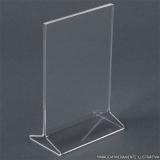 display de mesa acrílico 10x15 Bacaetava
