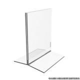 display mesa acrílico