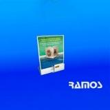 loja de display de mesa acrílico a4 Caieiras
