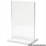 onde vende display de mesa acrílico 10x15 Cantareira