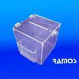urna acrílico 20x20 Cajamar